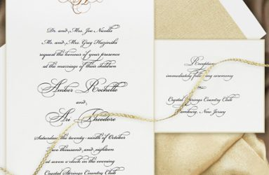 Wedding Invitations - Cest Papier