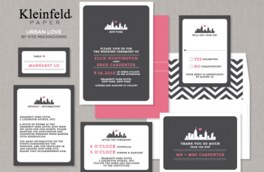 Wedding Invitations - Urban Love